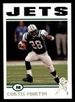 2004 Topps #256  Curtis Martin  Front Thumbnail