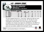 2004 Topps #346  Derrick Strait  Back Thumbnail