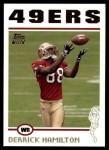 2004 Topps #340  Derrick Hamilton  Front Thumbnail