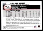 2004 Topps #338  John Navarre  Back Thumbnail