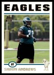 2004 Topps #359  Shawn Andrews  Front Thumbnail