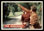 1956 Topps Davy Crockett Orange Back #38   The Knockout  Front Thumbnail