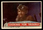 1956 Topps Davy Crockett Green Back #56   Looking for Trouble  Front Thumbnail