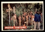 1956 Topps Davy Crockett #27   Indian Torture  Front Thumbnail