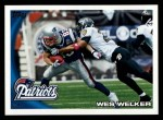 2010 Topps #110  Wes Welker  Front Thumbnail