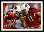 2010 Topps #15   -  Hightower / Larry Fitzgerald Cardinals Team Front Thumbnail