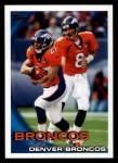2010 Topps #201   -  Kyle Orton / Knowshon Moreno Broncos Team Front Thumbnail