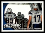 2010 Topps #216   -  Philip Rivers / Antonio Gates / Vincent Jackson Chargers Team Front Thumbnail