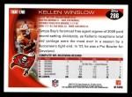 2010 Topps #286  Kellen Winslow  Back Thumbnail