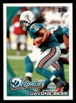 2010 Topps #218  Davone Bess  Front Thumbnail