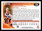 2010 Topps #328  Dezmon Briscoe  Back Thumbnail