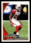 2010 Topps #304  Dominique Rodgers-Cromartie  Front Thumbnail