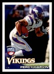 2010 Topps #333  Percy Harvin  Front Thumbnail