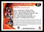 2010 Topps #377   -  Josh Cribbs / Mohamed Massaquoi Browns Team Back Thumbnail