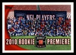 2010 Topps #412    Rookie Premiere Front Thumbnail