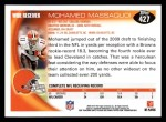 2010 Topps #427  Mohamed Massaquoi  Back Thumbnail