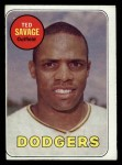 1969 Topps #471 YN Ted Savage  Front Thumbnail