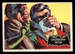 1966 Topps Batman Black Bat #6   Chloroform Victim Front Thumbnail