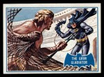 1966 Topps Batman Blue Bat Puzzle Back #7   The Grim Gladiator Front Thumbnail