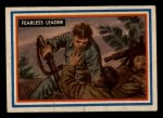 1953 Topps Fighting Marines #65   Fearless Leader Front Thumbnail