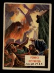1954 Topps Scoop #91   Pompeii Destroyed Front Thumbnail