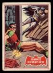 1966 Topps Batman Red Bat #33   Dynamite in Robin's Nest Front Thumbnail