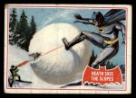 1966 Topps Batman Red Bat #22   Death Skis the Slopes Front Thumbnail