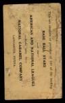 1921 E220 National Caramel  Tris Speaker  Back Thumbnail