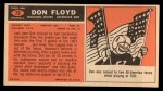1965 Topps #75  Don Floyd  Back Thumbnail