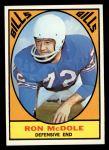 1967 Topps #25  Ron McDole  Front Thumbnail
