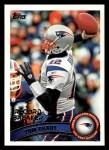2011 Topps #204   -  Tom Brady Record Breaker Front Thumbnail