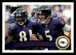 2011 Topps #53   Ravens Team Front Thumbnail