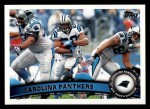 2011 Topps #199   Panthers Team Front Thumbnail
