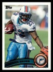 2011 Topps #161  Ronnie Brown  Front Thumbnail