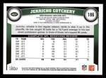 2011 Topps #186  Jerricho Cotchery  Back Thumbnail