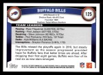 2011 Topps #125   Bills Team Back Thumbnail