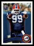 2011 Topps #256  Marcell Dareus  Front Thumbnail