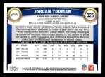 2011 Topps #325  Jordan Todman  Back Thumbnail