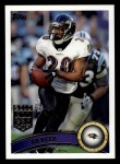 2011 Topps #408  Ed Reed  Front Thumbnail
