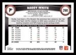 2011 Topps #260  Roddy White  Back Thumbnail