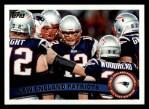 2011 Topps #346   Patriots Team Front Thumbnail
