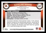 2011 Topps #327   Browns Team Back Thumbnail