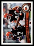 2011 Topps #327   Browns Team Front Thumbnail