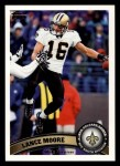 2011 Topps #324  Lance Moore  Front Thumbnail