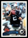 2011 Topps #433  Jimmy Clausen  Front Thumbnail