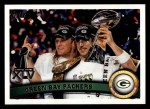 2011 Topps #247   Packers SB Champs Front Thumbnail