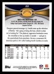 2012 Topps #22  Melvin Ingram  Back Thumbnail