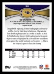 2012 Topps #36  Ed Dickson  Back Thumbnail