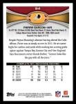 2012 Topps #84  Pierre Garcon  Back Thumbnail
