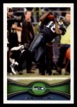 2012 Topps #94  Sidney Rice  Front Thumbnail